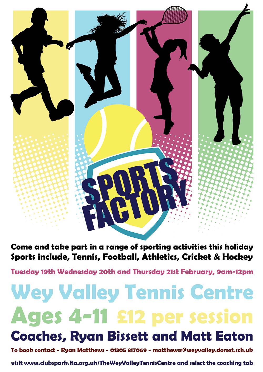 Sports Factory - February 2019 Half Term